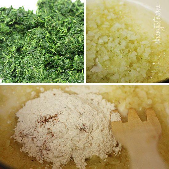 Makeover Spinach Gratin Recipes — Dishmaps