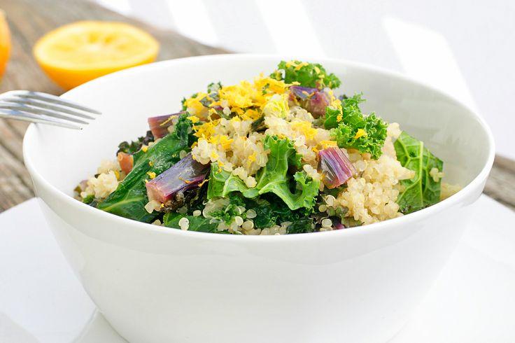 ... quinoa and cabbage salad recipe dishmaps quinoa pumpkin and kale salad