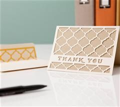 This elegant card and envelope are the perfect combination for that special thank you!