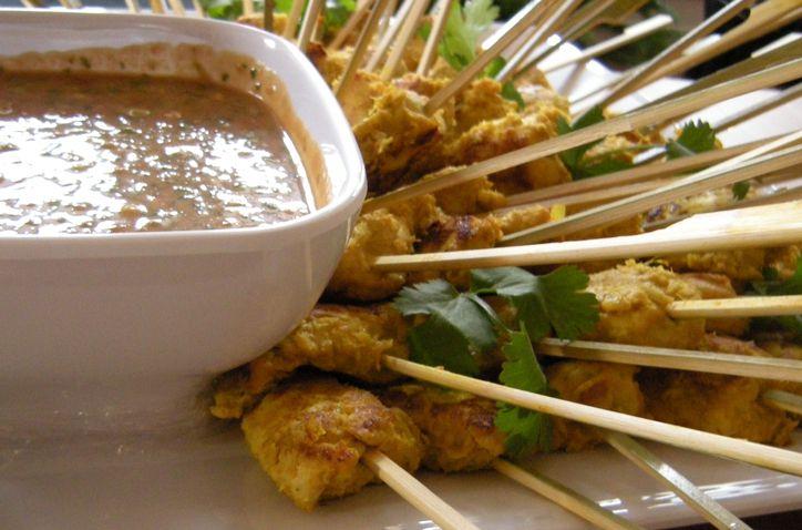 Lemongrass Pork Satays Recipe — Dishmaps