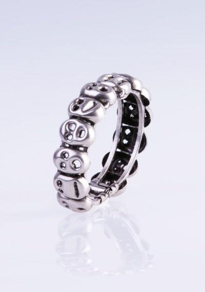 "Brass ""Munk"" spring bracele"