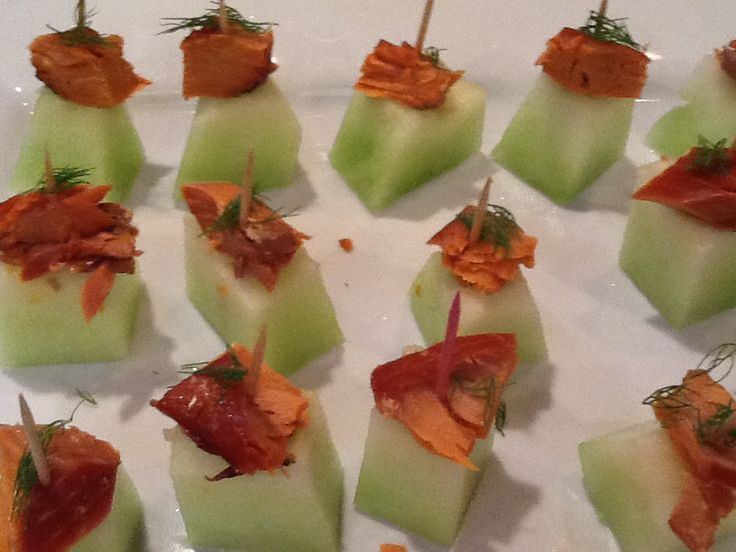 Smoked Salmon And Dill Appetizer