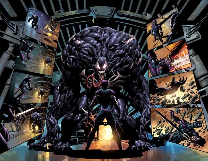 Venom vs Hawkeye   Gee...