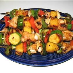 Yummy Honey Chicken Kabobs | Time To Eat | Pinterest