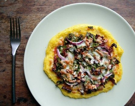 Polenta Pizza | Just Because. | Pinterest
