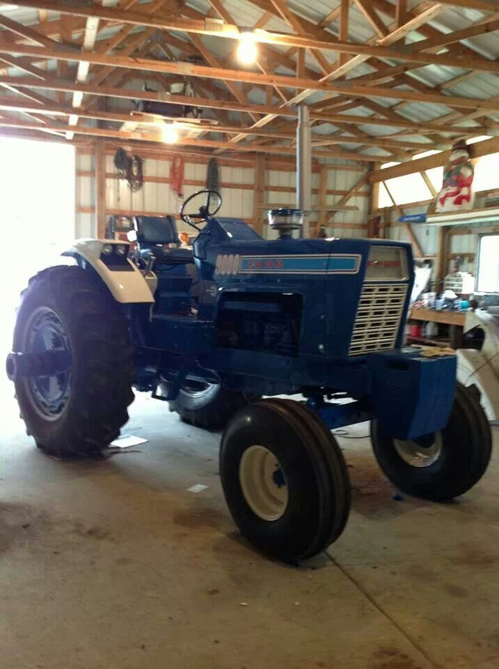 1972 Ford 9000 Tractor : Ford tractor