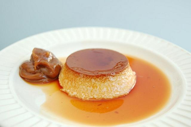 Flan con Dulce de Leche | Mmmmmmmmm.....yummy | Pinterest