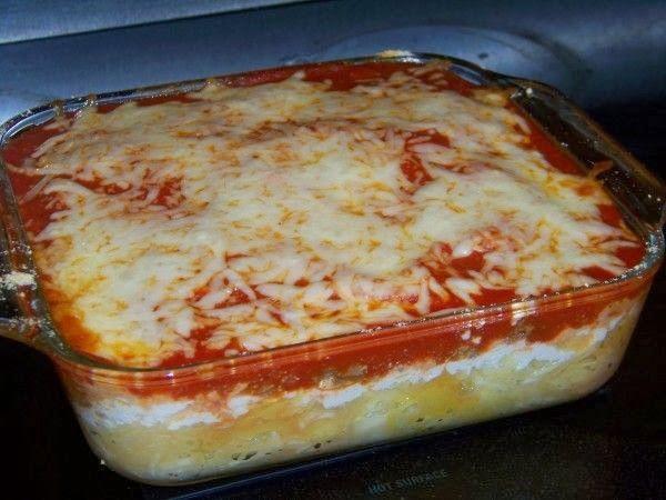 Spaghetti Squash Lasagna Casserole | awesome recipes | Pinterest