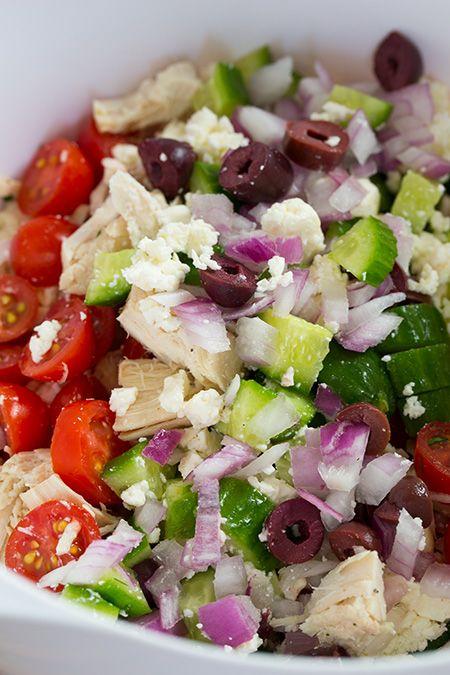 Greek Chicken Salad Sandwiches | Cooking Classy