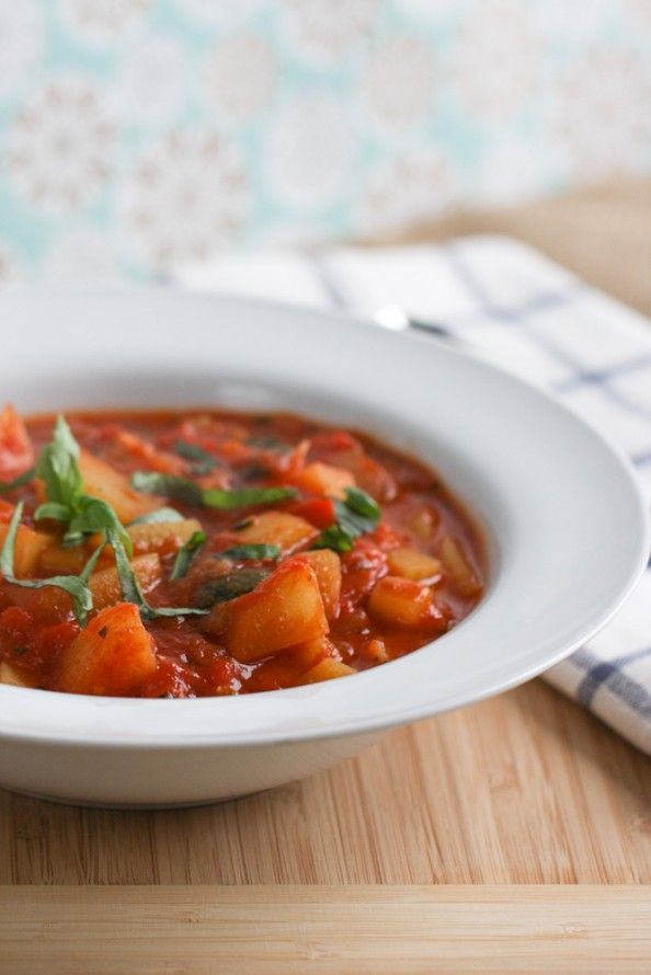 Italian Vegetable Stew | Recipe