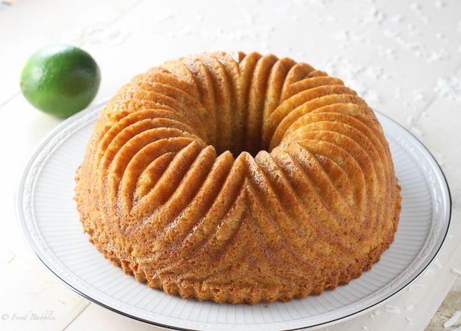 Coconut Lime Bundt Cake – FoodBabbles.com #cake #coconut #lime