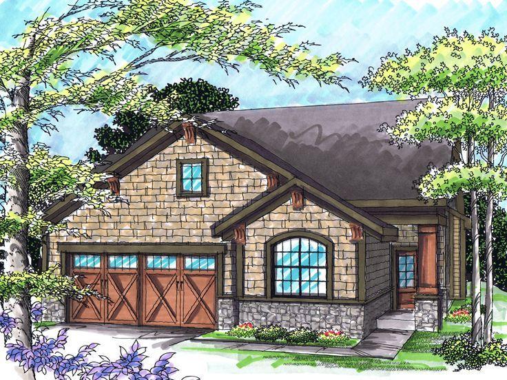 Empty nester house for the home pinterest for Empty nester house plans