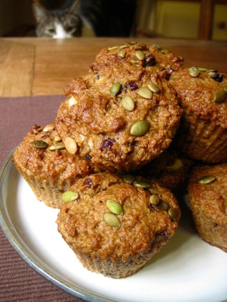 Pumpkin Spice Cream Cheese Muffins | Breakfast / Brunch | Pinterest