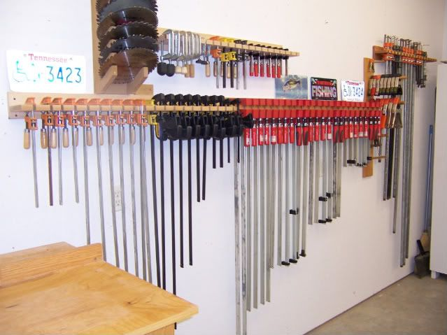 New Woodworking Clamp Storage Submited Images