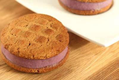 PB&J Ice Cream Cookie Sandwiches | Kid-Friendly Recipes | Pinterest
