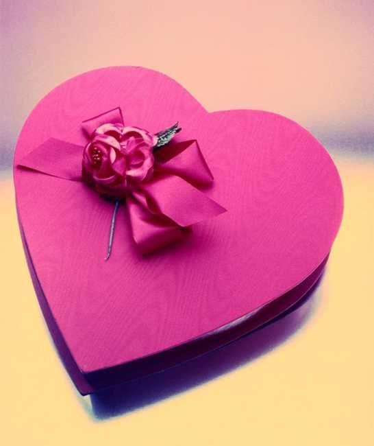 valentine wood box