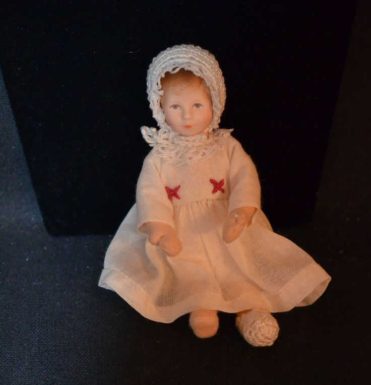 Pin by oldeclectics on antique miniatures dolls pinterest for Pinterest dolls