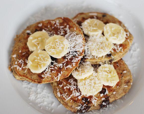 chip banana pancakes heart shaped chocolate chip pancakes photo ...