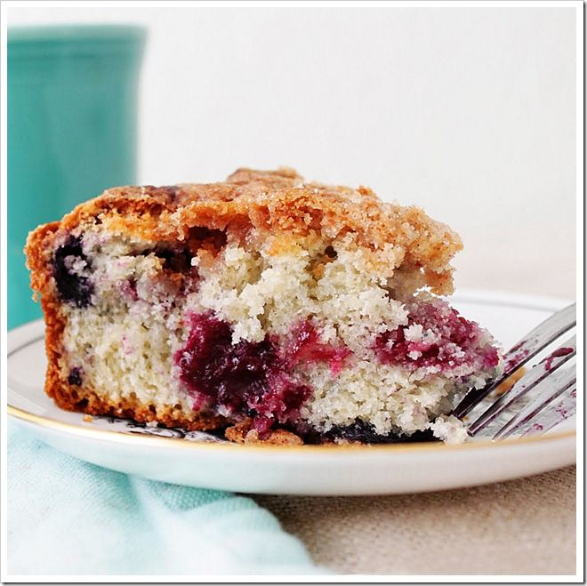Mixed Berry coffee cake | Hungry / Thirsty | Pinterest