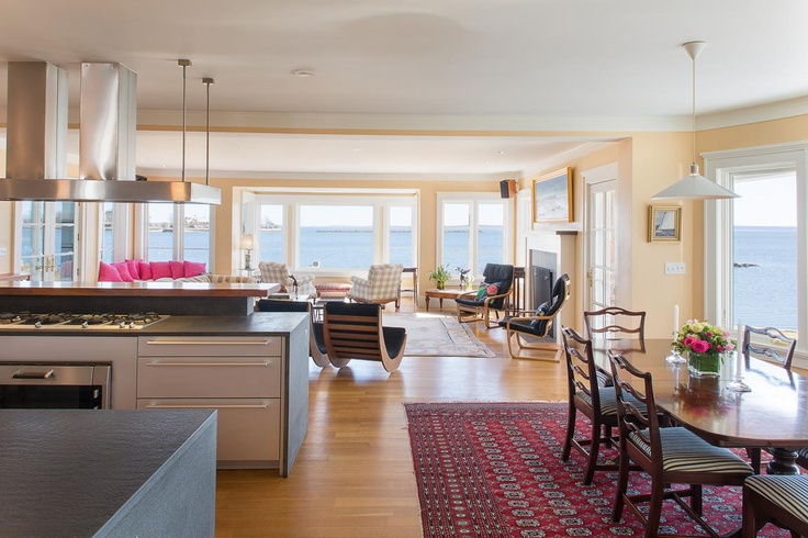 Kitchen family room home decor pinterest