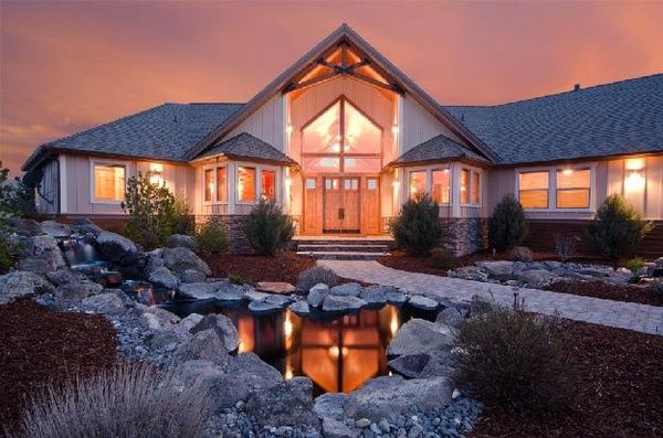 Dream ranch homes places to live pinterest for Ranch style dream homes