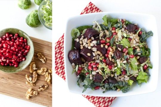 Fall Salad | Healthy food that LOOKS delish! | Pinterest