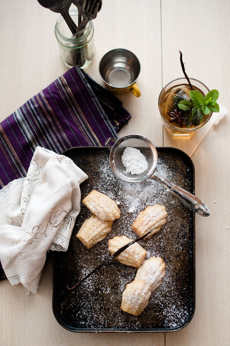 Burnt Butter and Vanilla Bean Madeleines Gluten free and tasty. http ...
