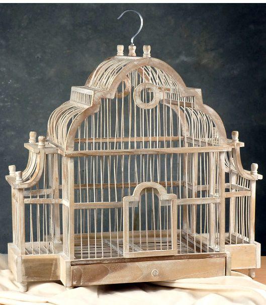 21 Natural Teak Wood Bird Cage 59 Supplies Pinterest