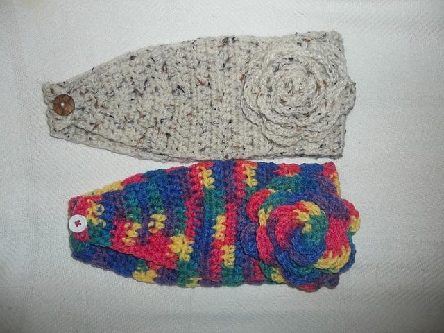 Simple Crochet Ear Warmer Headband Free Crochet Patterns ...