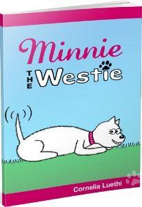 Cute! Minnie The Westie cartoon book