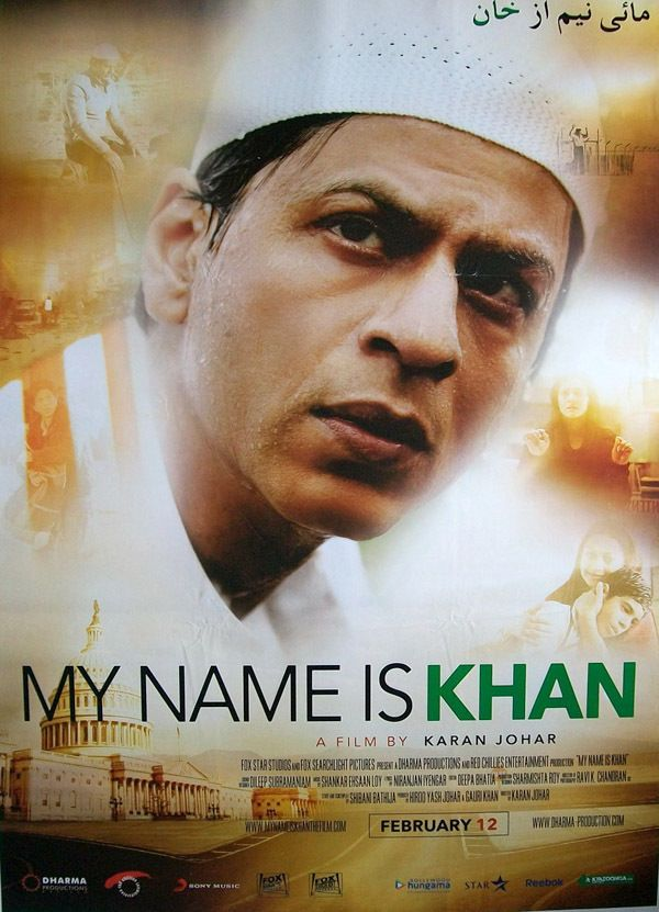 My Name Is Khan (2010) | Shahrukh Khan Hindi Movie Posters ...  My Name Is Khan Poster