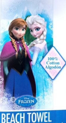 Frozen Disney Beach towel, Elsa adn Anna #Frozen, #Disney