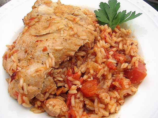 Chipotle Chicken and rice | Foods | Pinterest