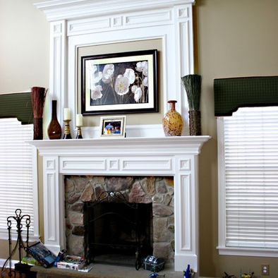 fireplace molding home