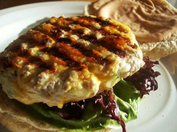 Ww Turkey and Cheddar Burgers (7 Points) from Food.com: Juicy, full of ...