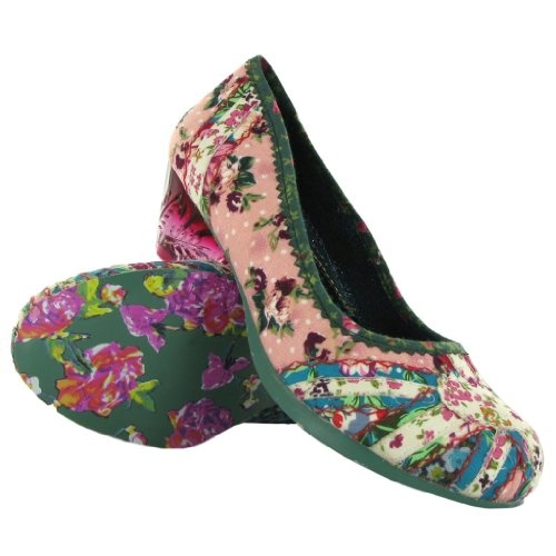 com: Irregular Choice Penelope Floral Womens Shoes Size 37 EU: Shoes