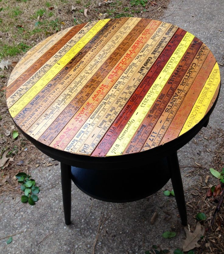 Yardstick Table or Homework Desk Tutorial - Dream a Little Bigger