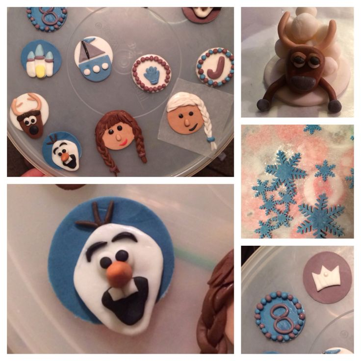 Disney frozen cupcake toppers frozen themed party pinterest