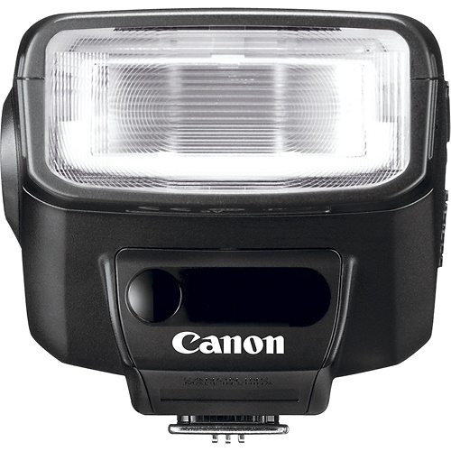 canon external flash how to use