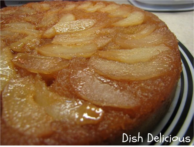 Upside down pear cake | Recipes ~ Sweets & Treats | Pinterest
