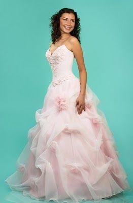 Soft pink wedding dress perfect wedding pinterest for Soft pink wedding dress