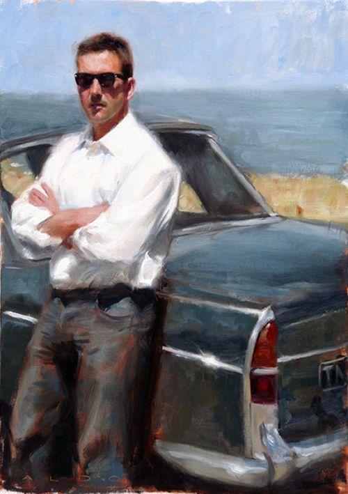 Aldo Balding (British:1960) - Figurative painter