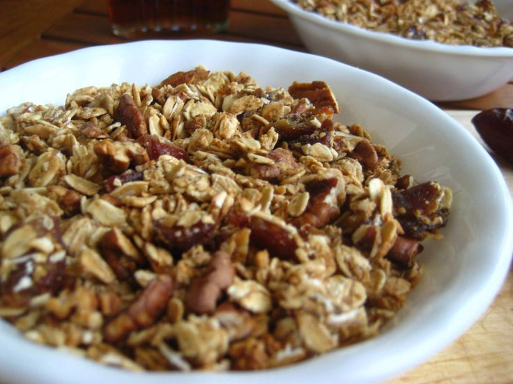 Maple pecan granola | Food for health | Pinterest