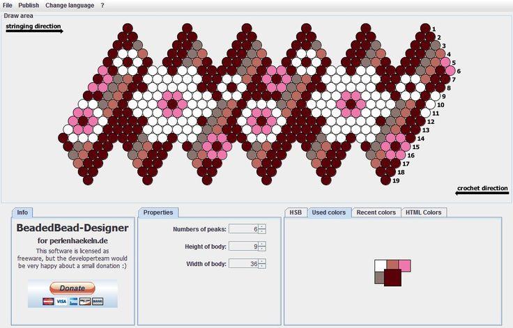 Схемы вязания бусин из бисера 41
