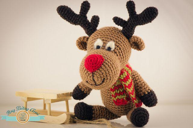Rudy Reindeer Amigurumi : Rudolph, the Reindeer Amigurumi Crochet Amigurumi - Cute ...