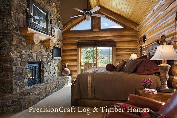 Cozy Master Bedroom Cabin Pinterest