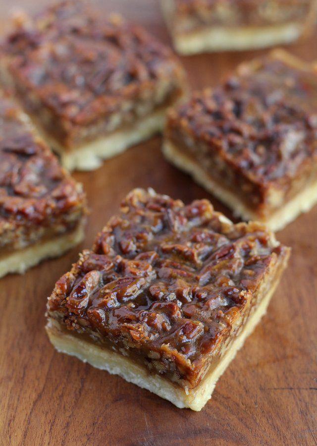 fall favorite - Ina Garten's chewy caramel pecan squares..
