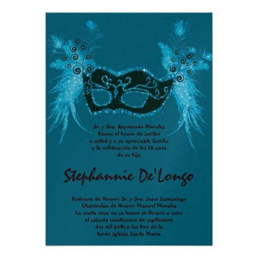 Quinceanera Masquerade Invitations for great invitations ideas