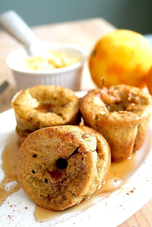 "Pumpkin Pie Mini Pop Overs. | All about ""Food"" | Pinterest"