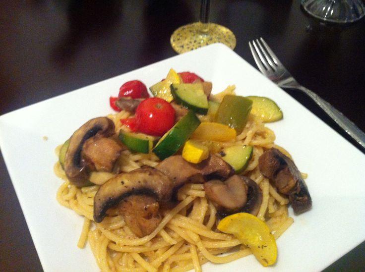 Katie Caldesi's Roasted Vegetable Pasta Recipe — Dishmaps